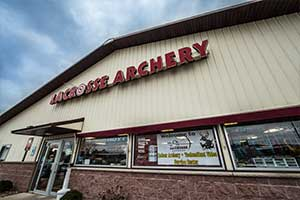 La Crosse Archery Entrance