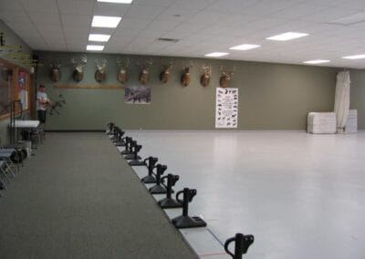 Shooting area in our Big Range