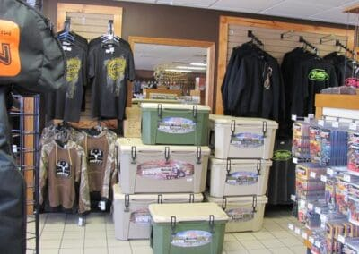 coolers and clothing for sale